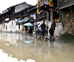 CHINA-SOUTHERN PROVINCES-HEAVY RAIN