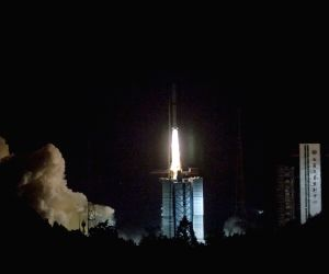 CHINA-XICHANG-CHANG'E-SATELLITE-LAUNCH