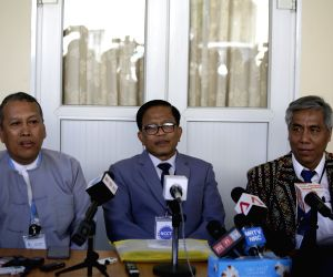 MYANMAR YANGON UPWC NCCT PEACE TALK RESUMPTION