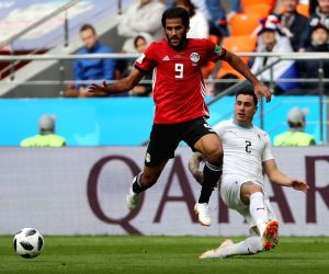 RUSSIA-YEKATERINBURG-2018 WORLD CUP-GROUP A-EGYPT VS URUGUAY