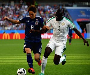 RUSSIA-YEKATERINBURG-2018 WORLD CUP-GROUP H-JAPAN VS SENEGAL