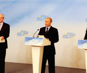 The 31st Russia-EU summit at Yekaterinburg