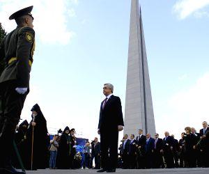 ARMENIA YEREVAN GENOCIDE 102ND ANNIVERSARY