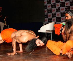Baba Ramdev launches biopic series 'Swami Ramdev: Ek Sangharsh