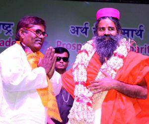 Ramdev during a programme