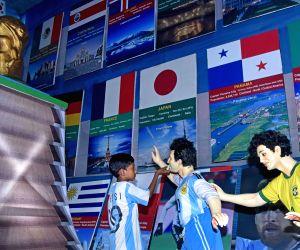 Fans celebrate Lionel Messi's birthday