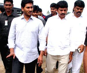 Public rally - YS Jagan Mohan Reddy