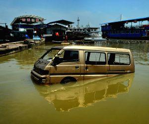 CHINA-HUNAN-DONGTING LAKE-HIGH WATER LEVEL