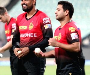 IPL 2017 -  Kolkata Knight Riders - practice session