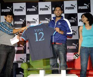 Yuvraj Singh announced as the ambassador for Puma
