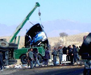 AFGHANISTAN ZABUL TRAFFIC ACCIDENT