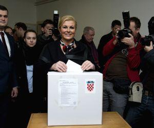 CROATIA ZAGREB PRESIDENTIAL ELECTIONS