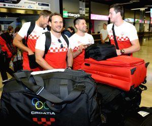 CROATIA-ZAGREB-RIO OLYMPICS-MEN'S HANDBALL TEAM DEPARTURE