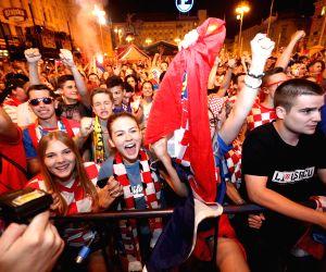 CROATIA-ZAGREB-SOCCER-FIFA WORLD CUP-FANS