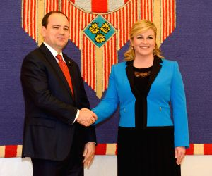 CROATIA ALBANIA PRESIDENT VISIT