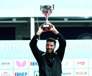 CROATIA ZAGREB TABLE TENNIS ITTF ZAGREB OPEN FINALS