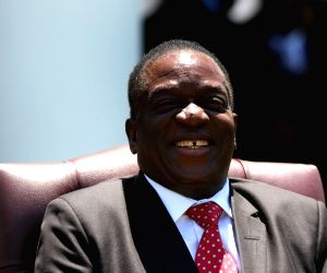 Zimbabwe president appeals for racial unity ahead of election