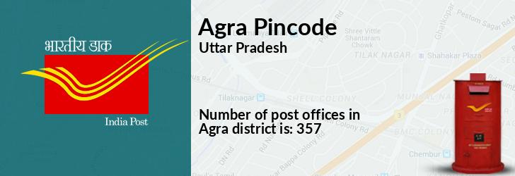 Agra Pincode
