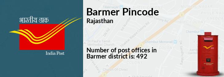 Barmer Pincode