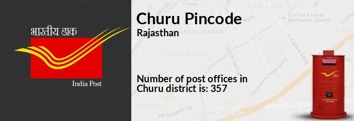 Churu Pincode