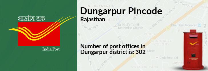 Dungarpur Pincode