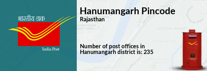 Hanumangarh Pincode