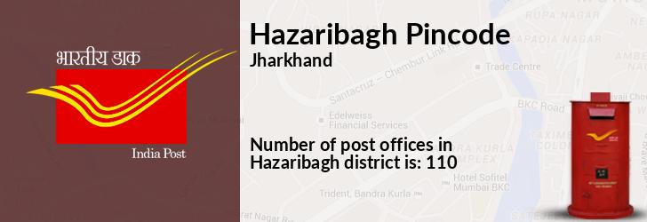 Hazaribagh District Pin Code, Jharkhand