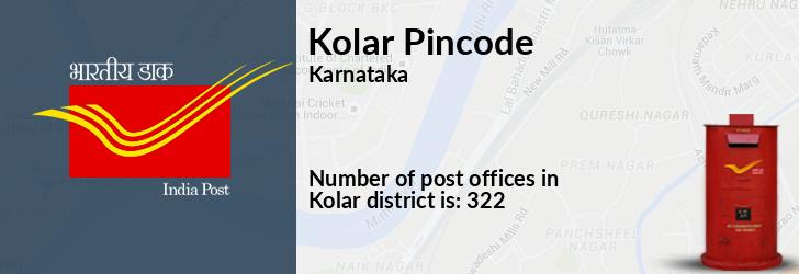 Kolar District Pin Code, Karnataka