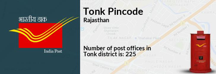 Tonk Pincode