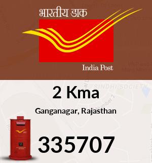 2 Kma Pincode - 335707