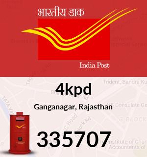4kpd Pincode - 335707