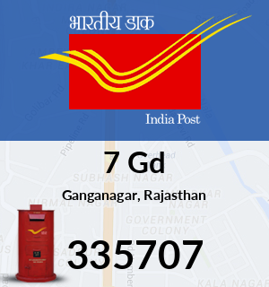 7 Gd Pincode - 335707