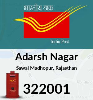 Adarsh Nagar Pincode - 322001