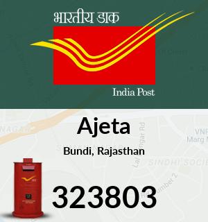 Ajeta Pincode - 323803