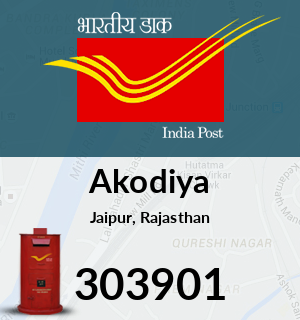 Akodiya Pincode - 303901