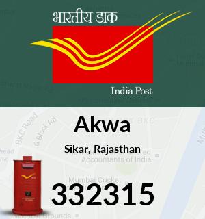 Akwa Pincode - 332315