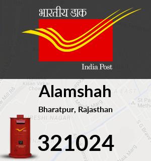 Alamshah Pincode - 321024