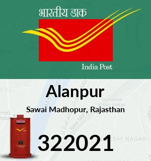 Alanpur Pincode - 322021