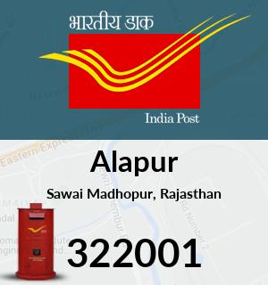 Alapur Pincode - 322001