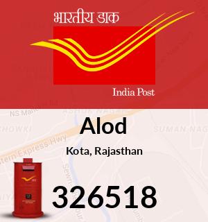 Alod Pincode - 326518