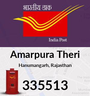 Amarpura Theri Pincode - 335513