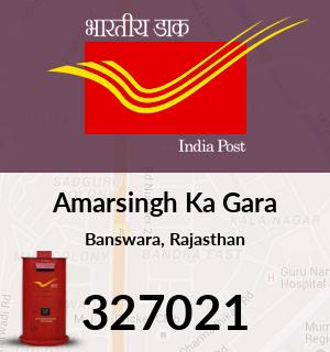 Amarsingh Ka Gara Pincode - 327021