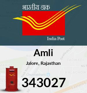 Amli Pincode - 343027