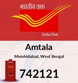 Amtala Pincode - 742121