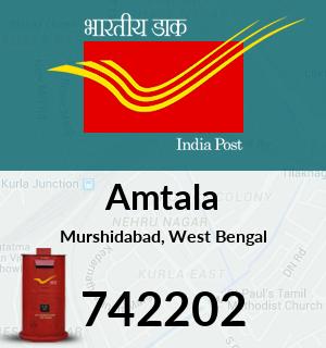 Amtala Pincode - 742202