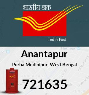 Anantapur Pincode - 721635
