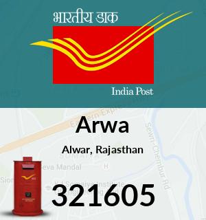 Arwa Pincode - 321605