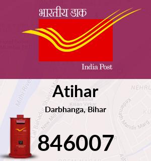 Atihar Pincode - 846007