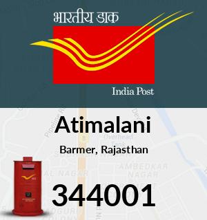 Atimalani Pincode - 344001