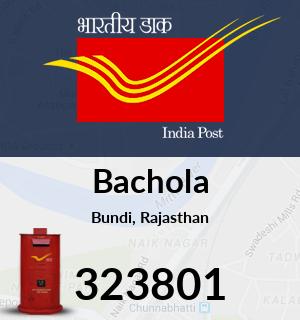 Bachola Pincode - 323801